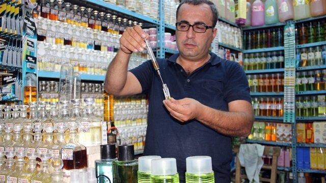 Urfa isotundan üretilen kolonya Avrupa'ya satılıyor