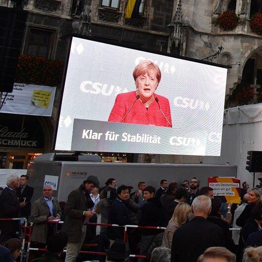 Almanya'da<br>seçim günü