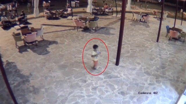 Vahşetin kurbanı 5 yaşındaki Suriyeli çocuğun son görüntüleri kamerada