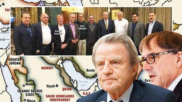 Fuad Hussein, Bernard Kouchner, Najmiddin Karim, Peter Galbraith, Hoshyar Zebari, Zalmay Khalilzad, Fazil Mirani, Sefin Dizayi