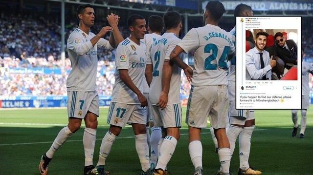 Real Madrid'e'imalı' mesaj