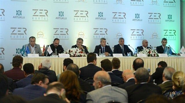 Zer Kartal Adi Ortaklığı'nın Ceylan İnşaat ve Artuklu Yatırım işbirliğiyle hayat bulan projesi Zer Kartal'ın lansmanı, Çırağan Sarayı'nda gerçekleştirildi.