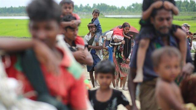Bangladeş'e sığınan Arakanlı Müslümanların sayısı 500 bini geçti
