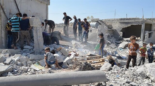 Airstrikes kill 28 civilians in Syria's safe zone