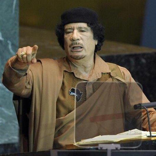 Kaddafi'nin 2008'deki konuşması: Saddam'ı astılar sırada biz olabiliriz