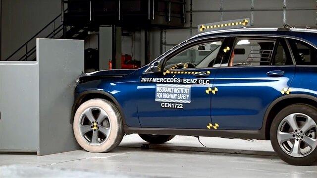Mercedes'in son modeli kaza testinden tam not aldı
