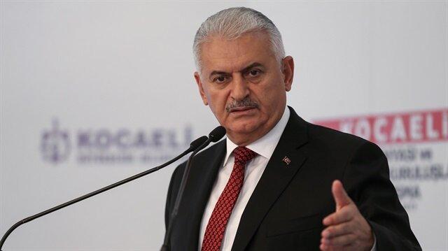 Başbakan Binali Yıldırım Kocaeli'de konuştu.