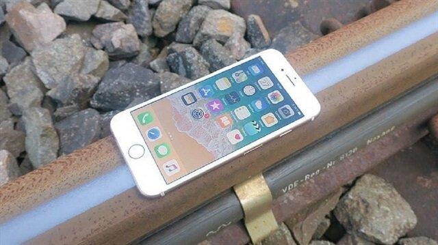 iPhone 8'in tren raylarıyla imtihanı