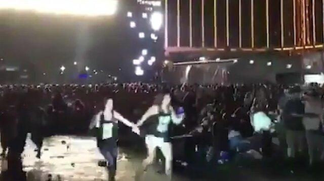 Las Vegas'ta konser alanına silahlı saldırı!