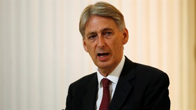 British finance minister Philip Hammond