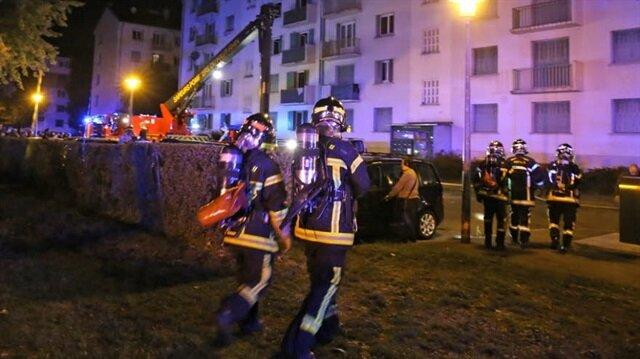 Fransa'daki yangında 'kundaklama' şüphesi