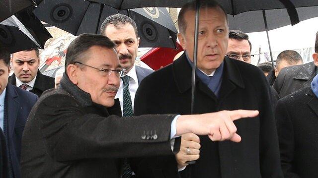 Cumhurbaşkanı Erdoğan ve Ankara Büyükşehir Belediye Başkanı Melih Gökçek ve  Keçiören Metrosunun açılışında. (Ocak 2017)