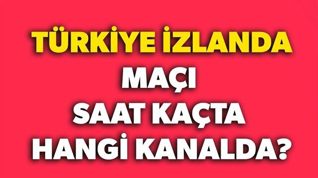 Türkiye İzlanda maçı ne zaman hangi kanalda? sorusunun yanıtı haberimizde sizlerle paylaştık.