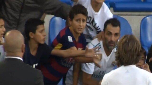 Luka Modric hayranı Barcelona taraftarı