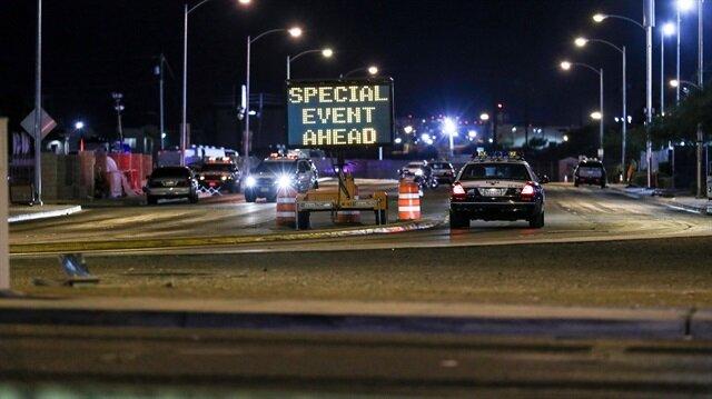 Las Vegas 'taki silahlı saldırı sonrası bölgede güvenlik önlemleri alındı.