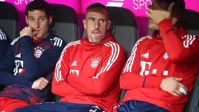 Ribery Fransa Milli Takımı ile çıktığı 63 maçta 14 gole imzasını attı.