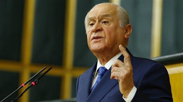 Opposition MHP leader Devlet Bahçeli