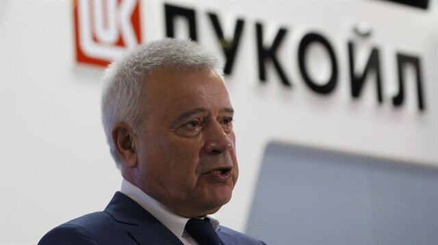 CEO of Lukoil company Vagit Alekperov