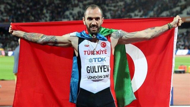 16. Dünya Atletizm Şampiyonası'nda Türkiye'yi temsil eden Ramil Guliyev, erkekler 200 metrede altın madalya kazanmıştı.