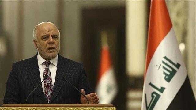 Iraq's prime minister Haidar Al-Abadi