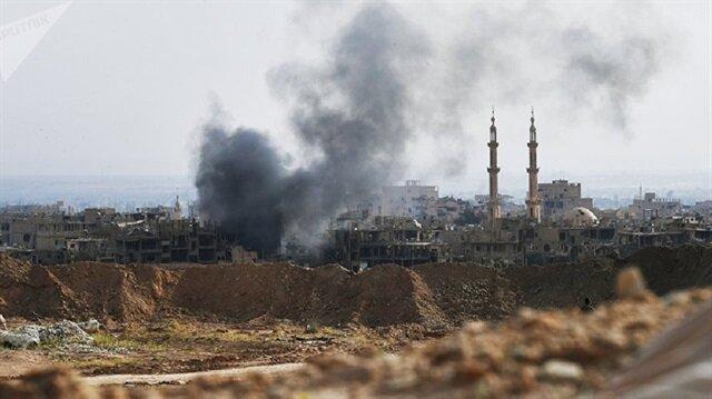 Suriyeli muhalifler Deyrizor'da 50 sivilin öldüğü saldırıyı kınadı