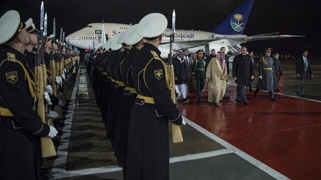 Suudi Arabistan Kralı Selman Moskova'da ile ilgili görsel sonucu
