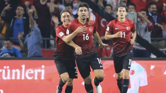 A Milli Takım formasıyla 35 maça çıkan Ozan Tufan 4 gol kaydetti.