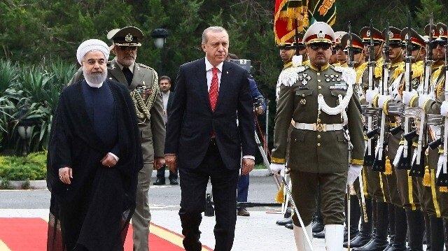 Cumhurbaşkanı Erdoğan ile Ruhani görüşmesi başladı