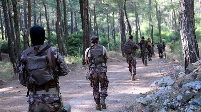 Anti-PKK operation held in southwestern Turkey for the first time