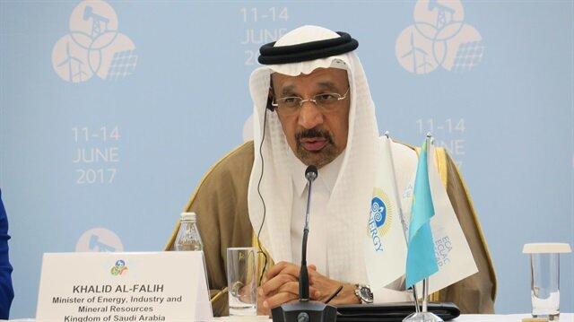 Suudi Arabistan Enerji Bakanı Halid el-Falih