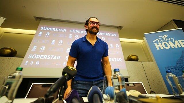 Actor Aamir Khan in Istanbul