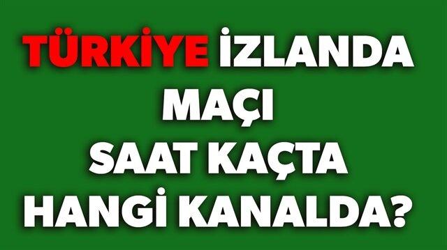 Türkiye İzlanda maçı hangi kanalda saat kaçta? sorularının yanıtı haberimizde.