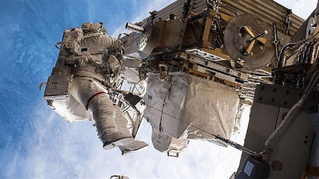 Two NASA astronauts finish 7-hour spacewalk