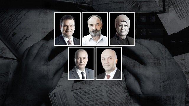 Kemal Öztürk , Hayrettin Karaman, Özlem Albayrak, Mehmet Şeker, Ahmet Ulusoy
