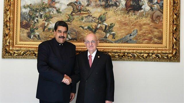 Venezuela Devlet Başkanı Maduro TBMM'de