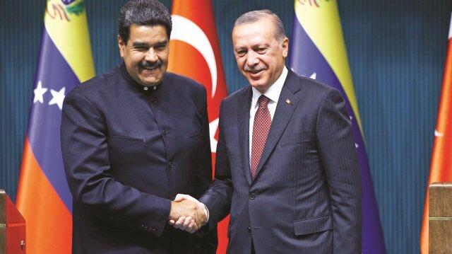 Venezuela Devlet Başkanı Maduro, Cumhurbaşkanı Erdoğan'ın davetlisi olarak Türkiye'ye geldi.