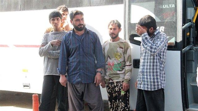 Elazığ'da 46 yabacı uyruklu şahıs yakalandı