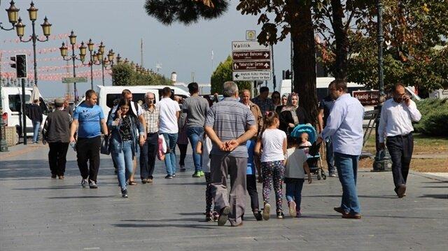 Samsun'da yazdan kalma bir gün