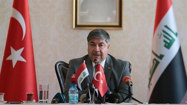Iraq's ambassador to Turkey Hisham Ali Akbar Ibrahim Al-Alawi