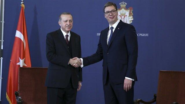 الرئيس الصربي يستقبل أردوغان بمراسم رسمية