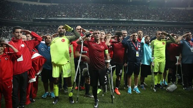 UEFA praises 'incredible' Turkish amputee footballers
