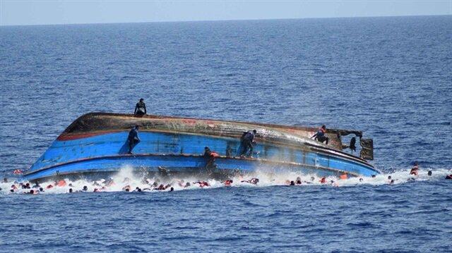 Akdeniz'de tekne faciası: 90 göçmen taşınıyordu