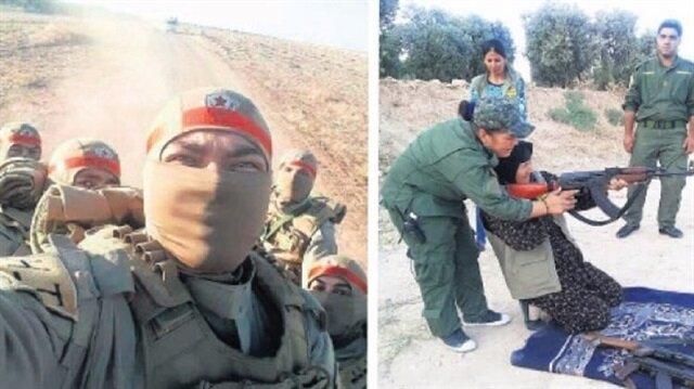 قوات بي يي دي الإرهابي مذعورة جرّاء التحرّكات التركية