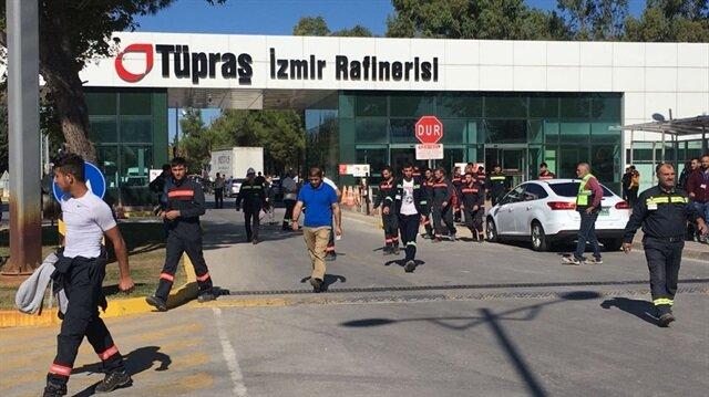 Tüpraş'ın İzmir rafinerisinde patlama: 4 ölü