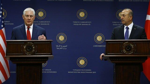 Çavuşoğlu ile Tillerson telefonda görüştü