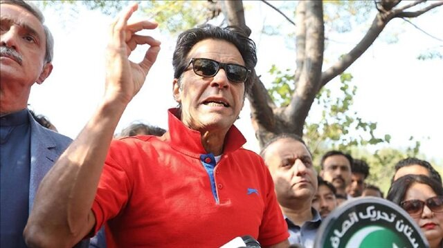 Chairman of the Pakistan Tehreek-e-Insaaf (Movement for Justice), Imran Khan
