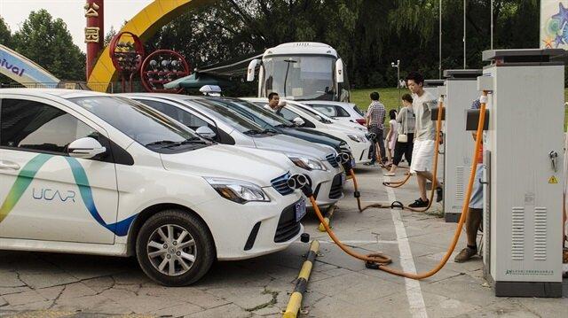 Çin geçtiğimiz yıl 507 bin elektrikli araç satışı yaptı.
