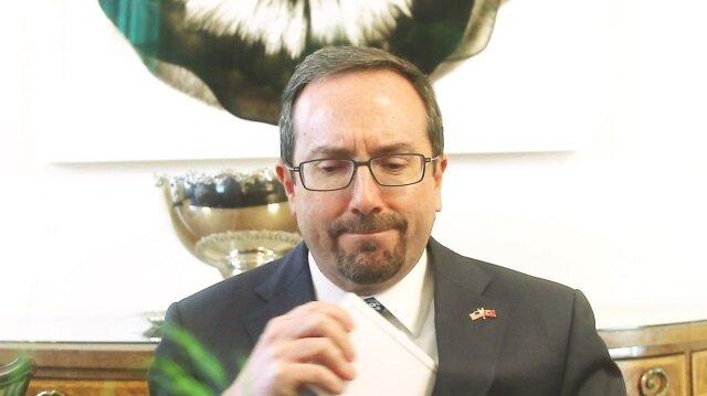 ABD Büyükelçisi Bass gider ayak tehdit etti