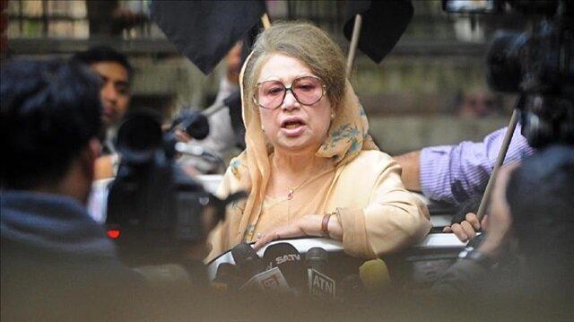 Bangladeshi opposition leader Khaleda Zia