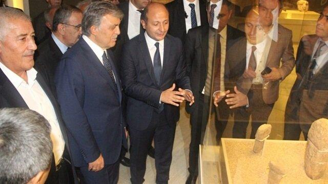 11'inci Cumhurbaşkanı Abdullah Gül, Şanlıurfa'ya gitti.